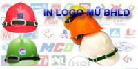 In logo lên mũ bảo hộ
