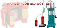 Dịch vụ nạp bình cứu hỏa