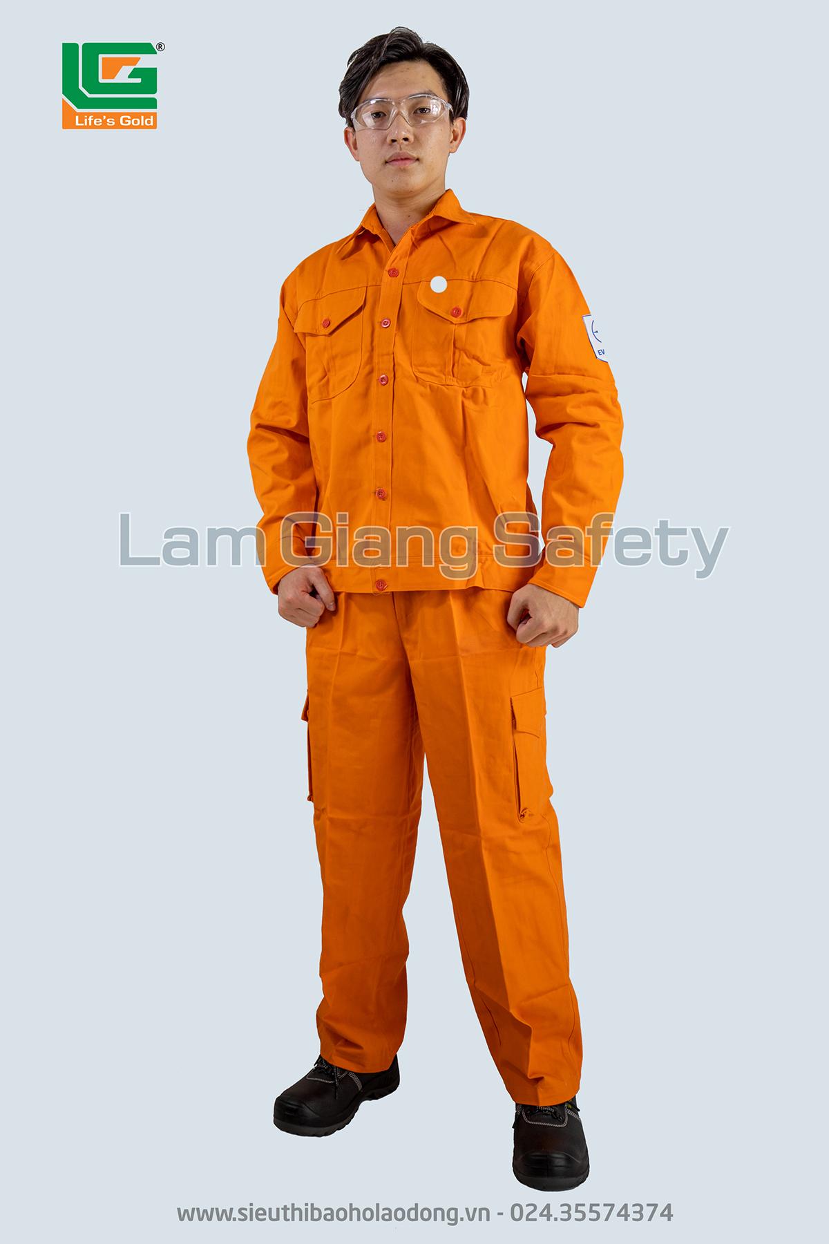 Áo khoác thợ điện vải Kaki Hàn Quốc
