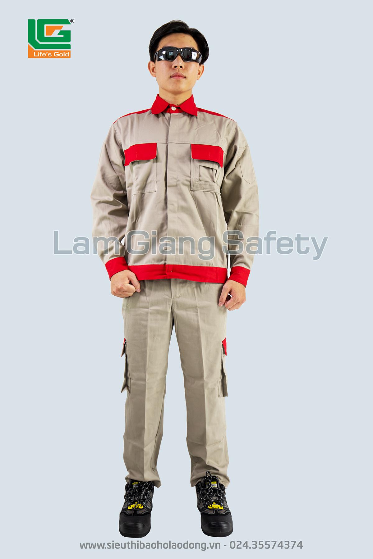 Quần áo cao cấp Lam Giang phối màu