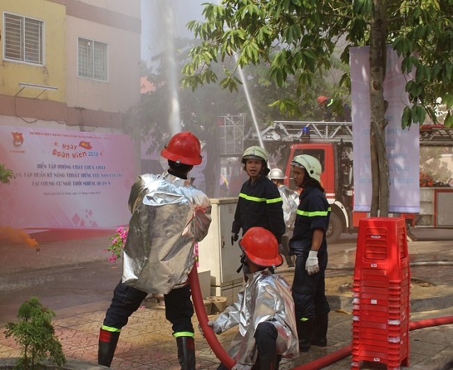 Sức mua thiết bị PCCC tăng tới 40% sau vụ cháy chung cư Carina Plaza