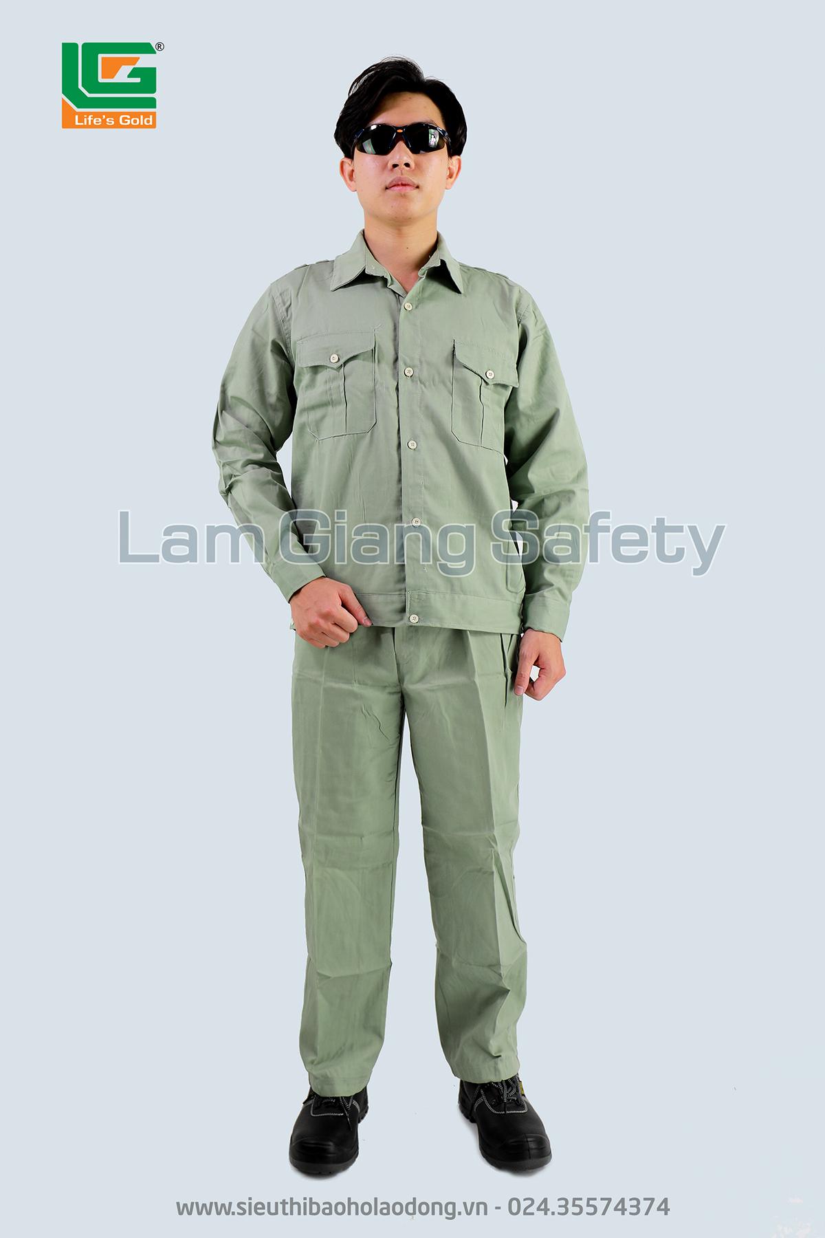 Quần áo vải kaki Nam Định loại 1