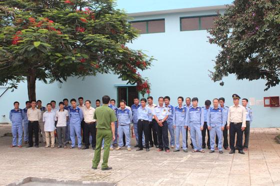 Công ty cổ phần nước sạch Vinaconex tập huấn PCCC mùa nắng nóng