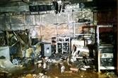 Cà Mau: Một công ty điện máy cháy rụi trong đêm