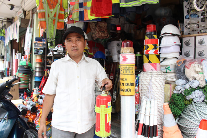 Nhiều người Sài Gòn không trang bị dụng cụ PCCC, có cháy thì... chạy