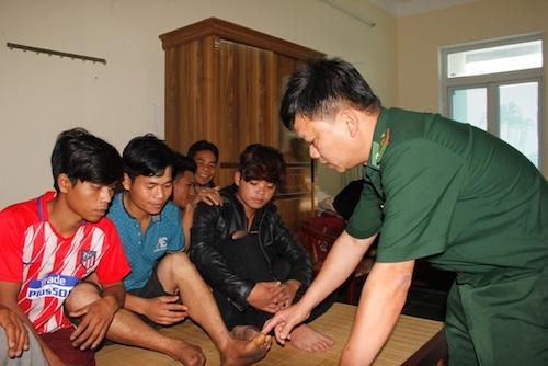 Giải cứu 11 thanh niên bị cưỡng bức lao động khai thác vàng