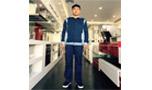 Bộ kaki chất liệu vải pangim Hàn Quốc  pha phối