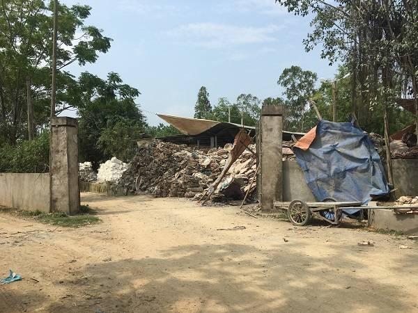 Hậu Lộc (Thanh Hóa): Cơ sở chế biến bao bì gây ô nhiễm môi trường bị giám sát chặt chẽ