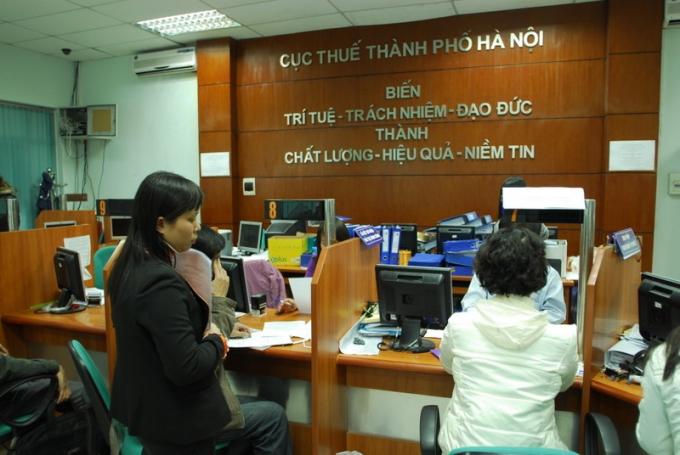 Cục thuế Hà Nội khai xuân bằng 144 đơn vị