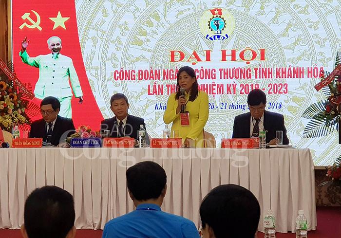 Công đoàn Công Thương Khánh Hòa- Chú trọng phát triển phong trào thi đua